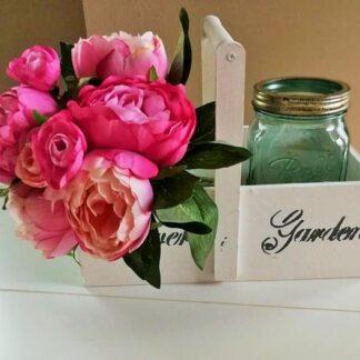 Flower Garden kosár boglárkával