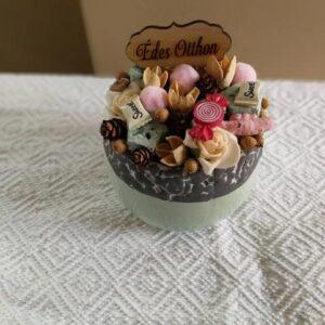 Cukorkás asztaldísz