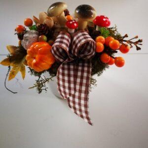 Őszi asztali dekoráció