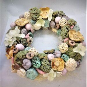 Cukorka színű tavaszi ajtókopogtató